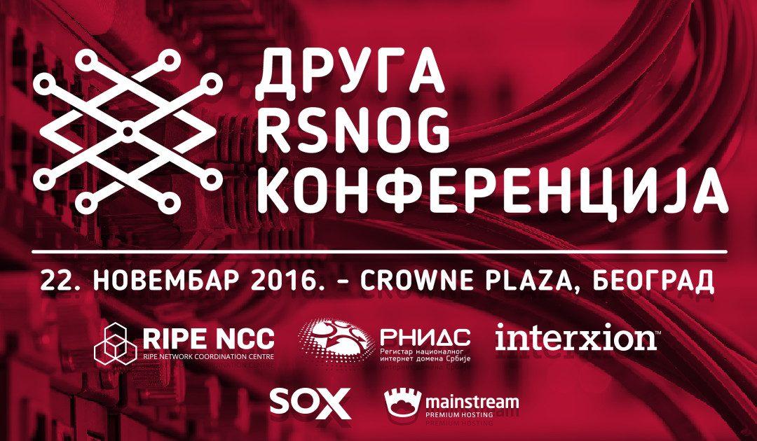Otvorene prijave za Drugu RSNOG konferenciju